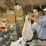 men and families, christmas, food give-a-way, fighting hunger, community engagement